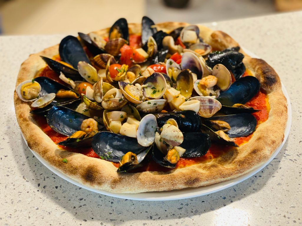 Pizza - Albergo Riviera - Magnano in Riviera